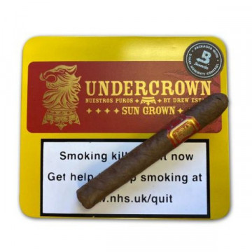 Nicaraguan Drew Estate Undercrown Sun Grown Coronets - Tin of 10 - Click to Enlarge