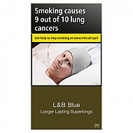 L & B Blue Longer Lasting Superking