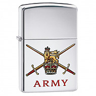 Zippo British Army High Polish Chrome