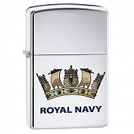 Zippo Royal Navy High Polish Chrome