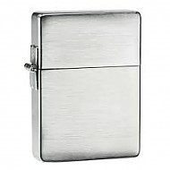 Zippo Plain Brushed Chrome 1935 Replica
