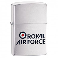 Zippo Royal Air Force Brushed Chrome