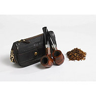 Tobacco Pouch Peterson Deluxe 1 Pipe Combo Case 149